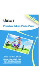 "180g 11""x17""x100 glossy photo paper"