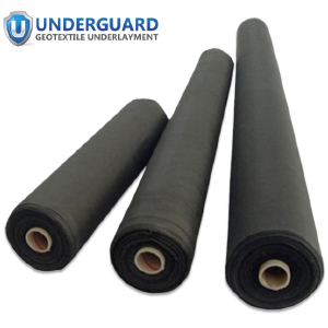 wickered barrier non woven 4 6 8 oz clay fabric underlayment pond drainage nonwoven rain