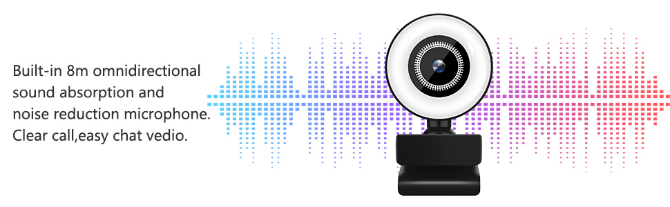 Flashandfocus.com 663821dc-9957-4665-adfe-6bab82174b68.__CR0,0,970,300_PT0_SX970_V1___ Streaming HD Webcam, ITSHINY 1080P Webcam with Ring Light & Dual Microphone, USB Adjustable Brightness Web Camera for…
