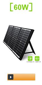 60W Foldable Solar Panel