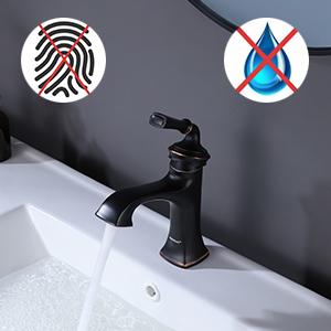 bathroom vanity faucet oil rubbed brozen