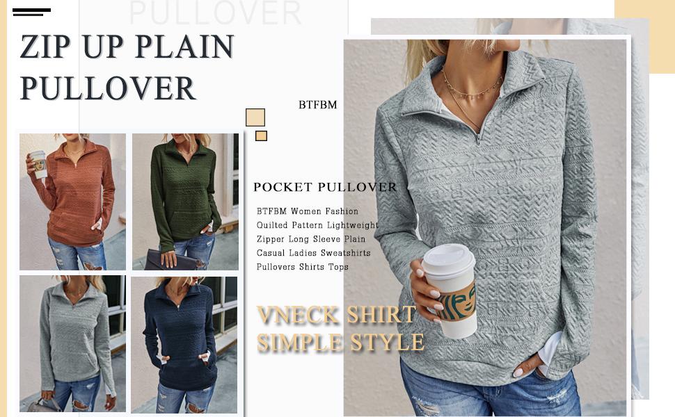 womens sweatshirts pullover quarter zip pullover pullover women  3/4 zip pullover womens