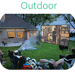 projector screen with stand  portable projector screen  indoor outdoor  home movie screen