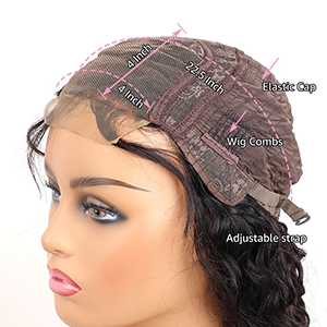 human hair lace closure wigs 4by4 lace wigs for black women