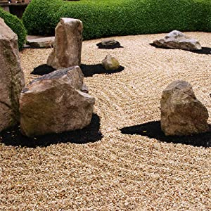 Decorative Rainbow Boulders Garden Rocks 2 For £16