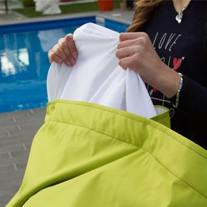 cuscino per esterno con sacca interna