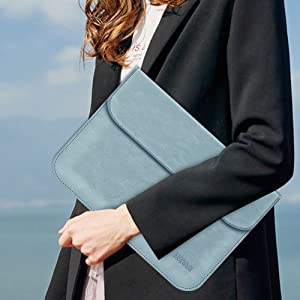 13 inch leather laptop sleeve
