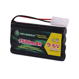 Nuprol batterie rechargeable NiMH 9.6 V GRAND 3300 mAh Taymia Airsoft Jouet Jeu 8005