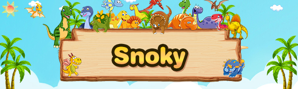 Snoky toys for 3-12 year old kids