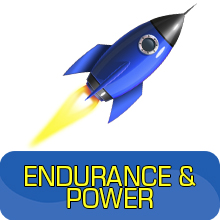 endurance and power