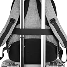 Metal Zipper Backpack