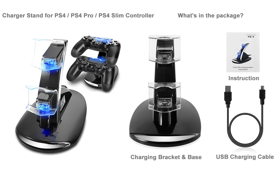 PS4 charger stand