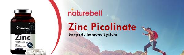 Zinc Picolinate Nature Bell Logo