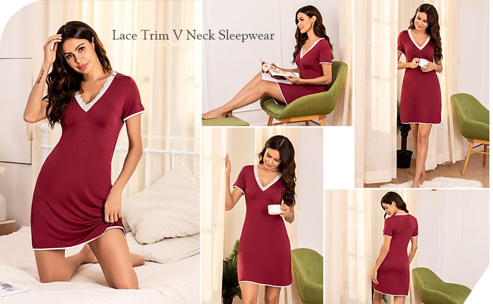 sleep shirts for women nightgowns for women sleeping dress victoria secret women sleepwear