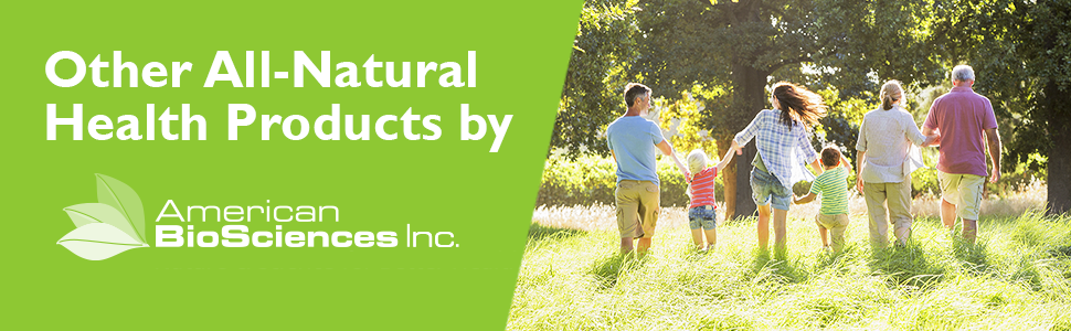 American BioSciences Natural Supplement Line