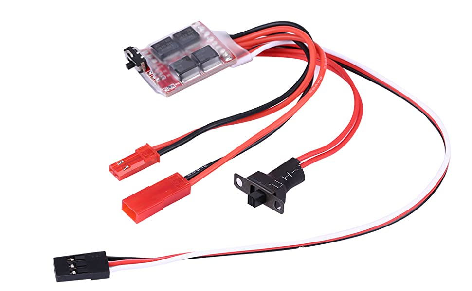 MagiDeal RC Vehicle Model Car Boat 260 Brushed Motor ESC 20A Speed Control