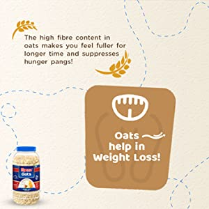 Manna Oats Help in Weight Loss