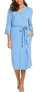 light blue robes
