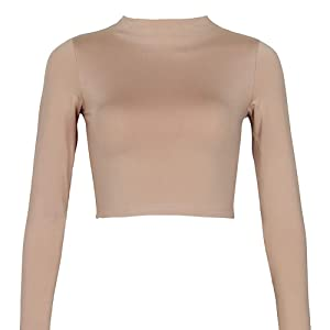 Cotton crop tops stretchy