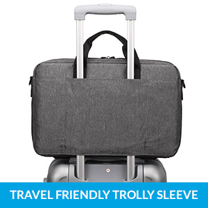 Travel friendly trolly sleeve