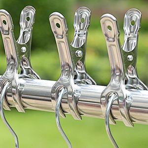 windproof hanger clips