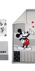 Magical Mickey Mouse Crib Set