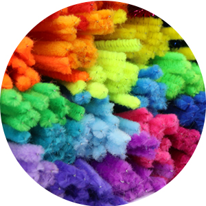 non-toxic craft materials chenille stems and pipe cleaners