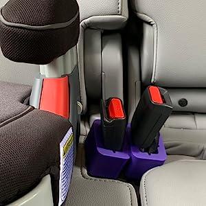Buckle Booster, Seat Belt Receptacle Raiser, Booster Seat