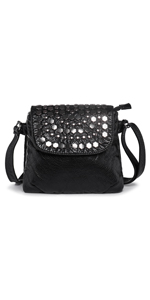 bolso mujer remaches