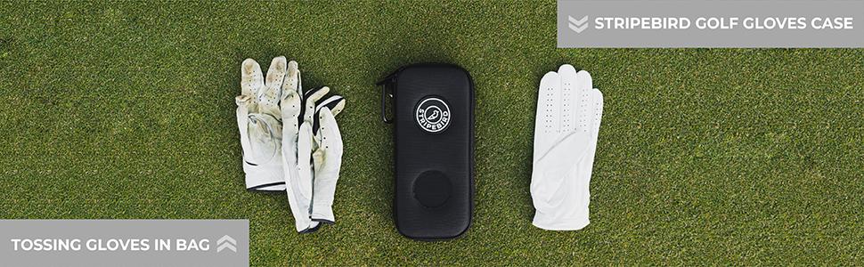 protect golf gloves, golf glove storage, golf glove keeper, golf glove protector