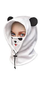 Kids Balaclava Winter Hat/Panda