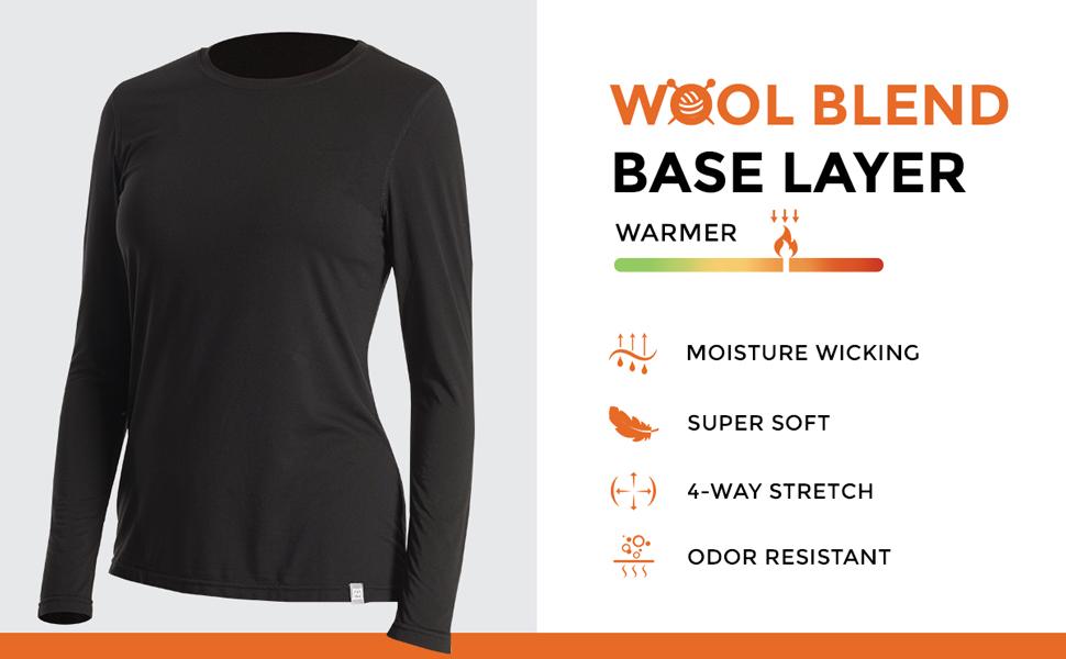 Wool Blend Base Layer