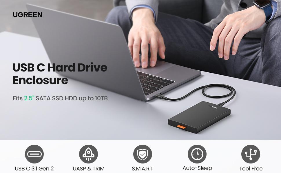 ugreen hard drive enclosure