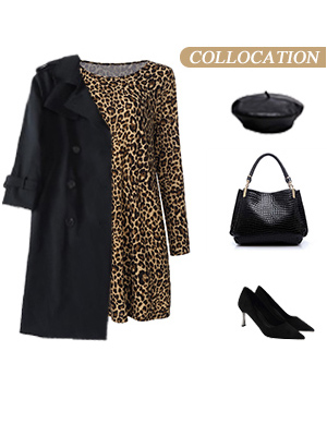 leopard dress for women