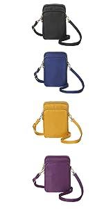 Nylon small crossbody purse