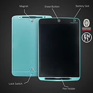 EN71 certified screen lock and full erase