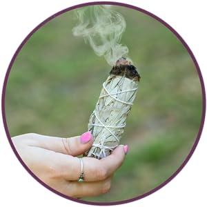 Purple Canyon White Sage Smudge Bundles incense meditation blessing smudge guide