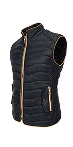 Women's Winter Big &Tall Long Down Quilted Coat with Faux Fur Trimmed Hood