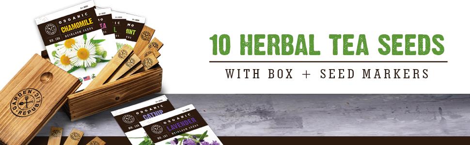 herbal tea seed box