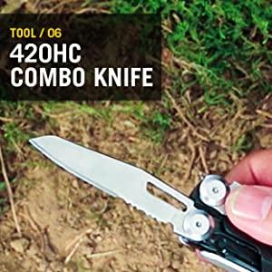 420HC Combo Knife, Leatherman, Leatherman Signal, Multitool, Multipurpose Tool