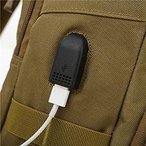 Side USB port