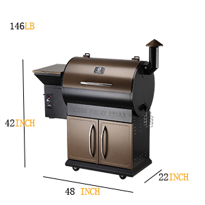 large pellet grill for big party