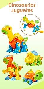 Desmontar Dinosaurio Juguetes
