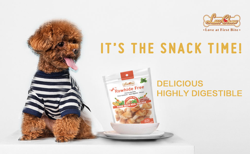 og chew,no rawhide,edible,digestible,small, chicken, rolls, healthy,longlasting,free,gluten