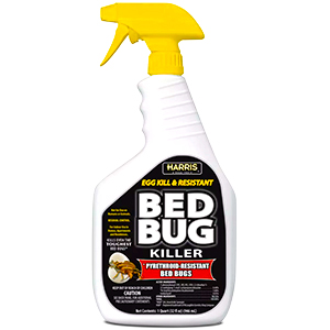 Amazon Com Harris Black Label Bed Bug Killer Liquid Spray With Odorless And Non Staining Extended Residual Kill Formula 32oz Garden Outdoor