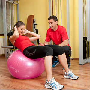 Exercise Ball  Extra Thick Yoga Ball Chair for Fitness, Stability, Balance, Pilates, Birthing