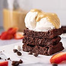 diabetic dessert, diabetic treat, diabetic snacks, low carb dessert, low carb brownie mix, brownies