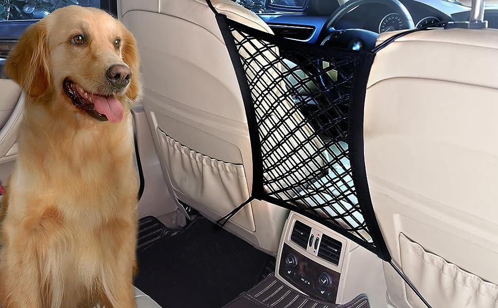 Dog Car Net Barrier