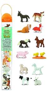 creature, safari, toy, replica, figure, animals, mini, miniatures, farm, babies