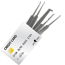 credit card lock pick